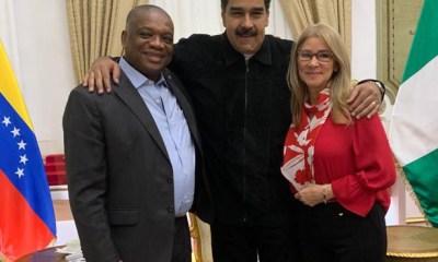 Orji Uzor Kalu in venezuela