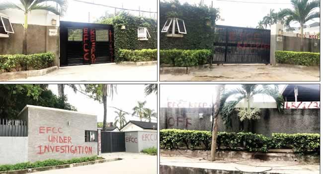 EFCC seizes Saraki's houses in Lagos