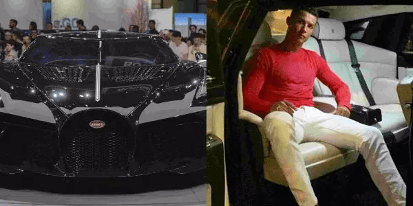 Cristiano Ronaldo buys world's most expensive car at £9.5million