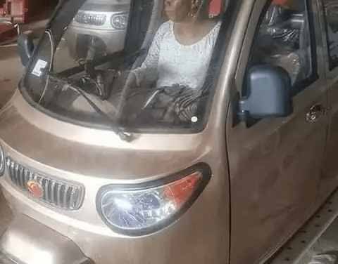 Fully air conditioned Keke Napep spotted in Anambra state