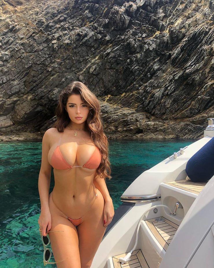 Demi Rose bikini photos