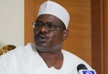 Senator Ali Ndume in Corrections Centre