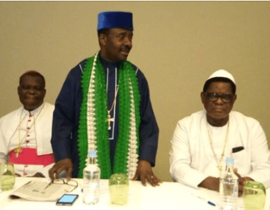 CAN president says nobody had hatred for Fulani herdsmen