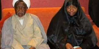 El-Zakzaky and wife suffering from metal poisoning