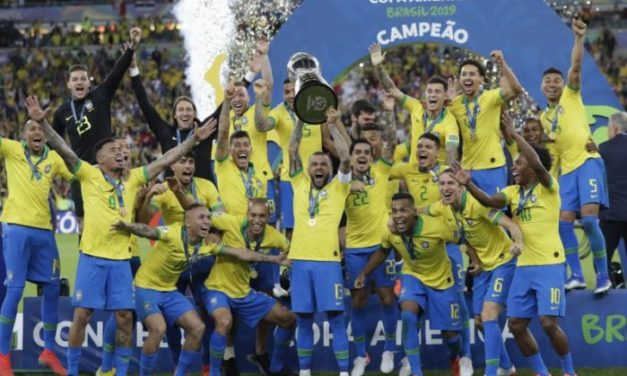 Brazil win Copa America for 9th time