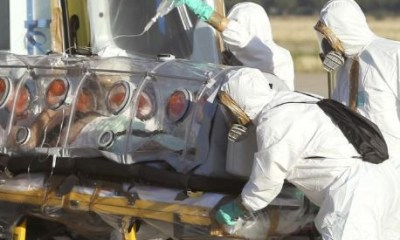 Ebola patient escapes from treatment centre