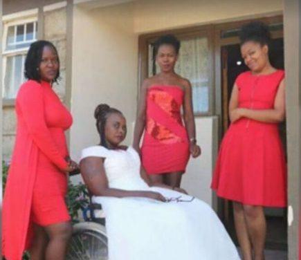 Kenyan lady Georgina Wambui weds herself