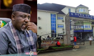 Okorocha reacts to EFCC sealing