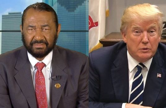 US lawmaker Al-Green files impeachment notice against President Trump