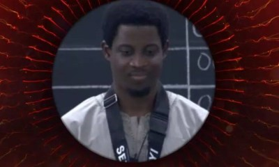 Seyi wins the Veto Power Game of Chance