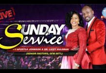Sunday 4 August 2019 Live Service With Apostle Johnson Suleman