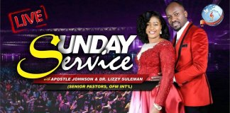 Omega Fire Ministries 8 September 2019 Live Service