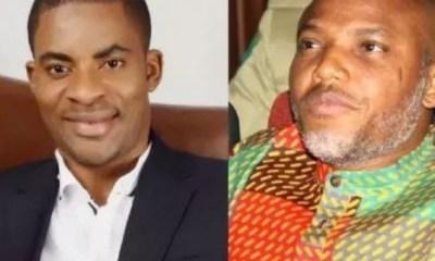 Deji Adeyanju blasts Nnamdi Kanu over plan to attack Buhari in Japan