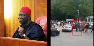Ekweremadu allegedly beaten by Nigerians in Germany