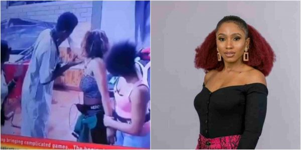 BBNaija 2019: Watch the moment Seyi  was caught kissing Mercy's body (Video)