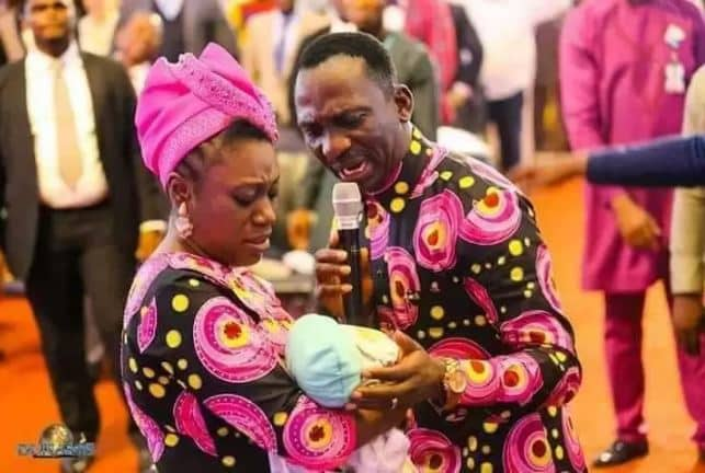 Pastor Paul Enenche resurrects dead baby with hole in the heart