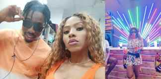 BBNaija 2019 : Mercy and Ike caught smooching and moaning
