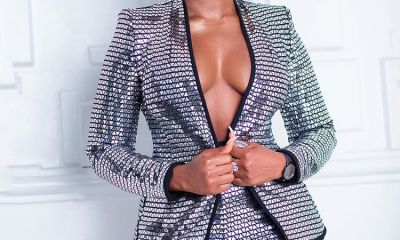 Cee-c blows flaunts killer cleavage in new photos