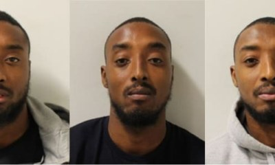 Identical triplets sentenced to a total of 46 years for firearm offences