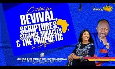 Omega Fire Ministries Live Service 13 October 2019