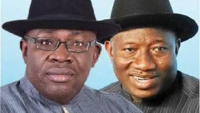 Seriaki Dickson And Goodluck Jonathan