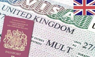 Visa requirements for United Kingdom