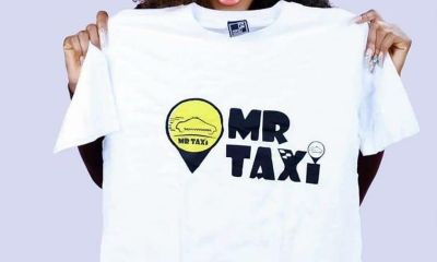Mercy Eke and Mr Taxi
