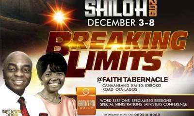 Shiloh 2019 Intercessory Prayer Guidelines