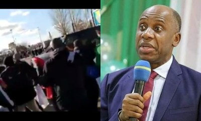 Rotimi Amaechi attack in Spain