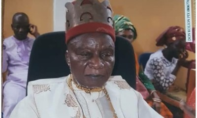 Nnamdi Kanu's Father is Dead