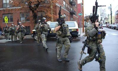 Deadly gun battle kills six people in Jersey City