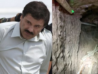 American Govt discovers El Chapo's drug-smuggling tunnel with underground railway from Mexico to US