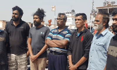 Nigerian navy arrests 7 Sri Lankans
