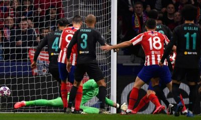 Atletico Madrid defeat Liverpool in Champions League last 16
