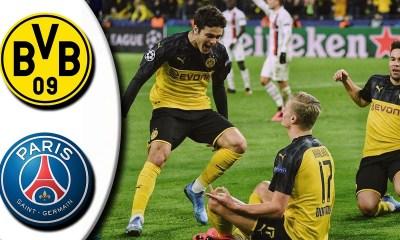 Borussia Dortmund beat PSG 2-1