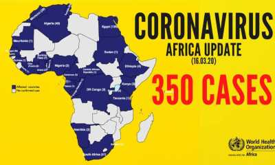 lists of African countries with Coronavirus cases