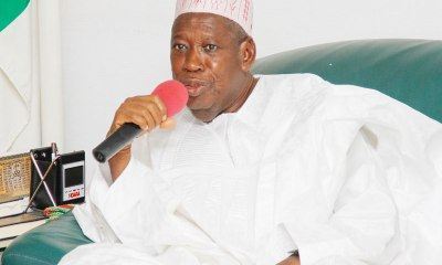 Kano is in trouble - Ganduje cries out