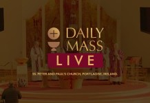 Live Catholic Mass 18 May 2021 St Peter & Paul's Church