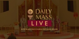 Catholic Sunday Mass 22 November 2020 St Peter & Paul's Church Ireland Read Catholic Daily Mass Reading Sunday 22nd November 2020
