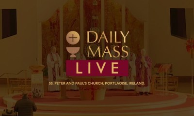 Live Daily Mass 9 April 2021 St Peter & Paul's Church Ireland