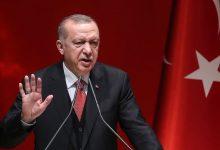 Erdogan as he arrives Nigeria