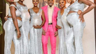 Pretty Mike storms Williams Uchemba's wedding with his squad of 6 pregnant baby mamas