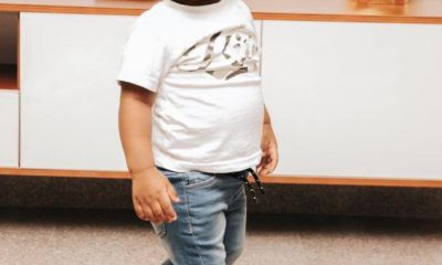 Davido names Chioma's son, Ifeanyi, as his Heir apparent
