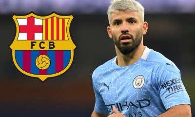 Barcelona officially sign Sergio Aguero