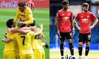 Villarreal Beat Manchester United In The Europa League Final