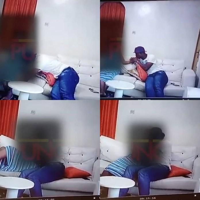 CCTV footage of Baba Ijesha molesting 14-Year-old girl