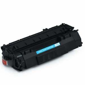 Q7553A za HP, Canon kompatibilni toner (črn)