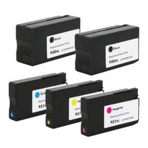 HP950xl, HP951xl za HP komplet 5 tinta (4 boje)