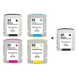 HP 88xl za HP komplet 5 tinta (4 boje)