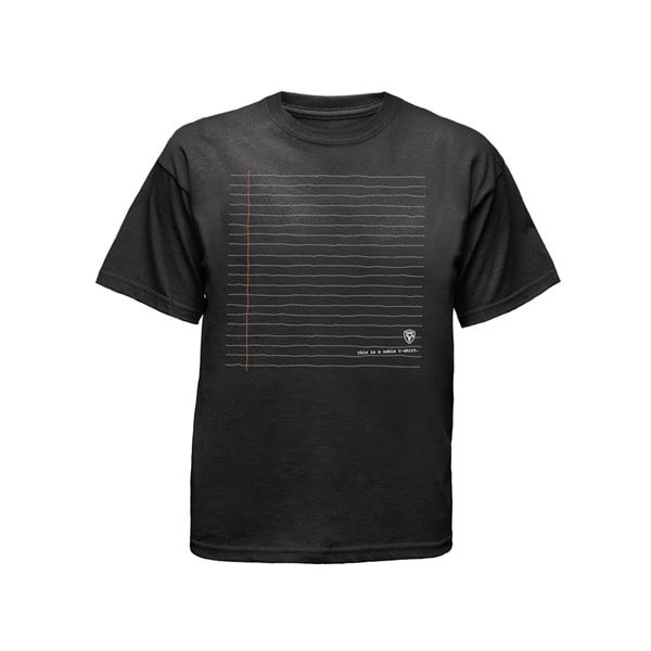 black mens tshirt ghost apparel photography